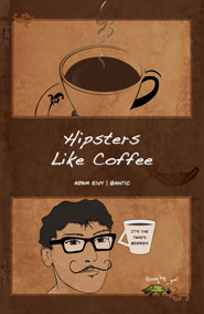Hipsters Like Coffee 1x3